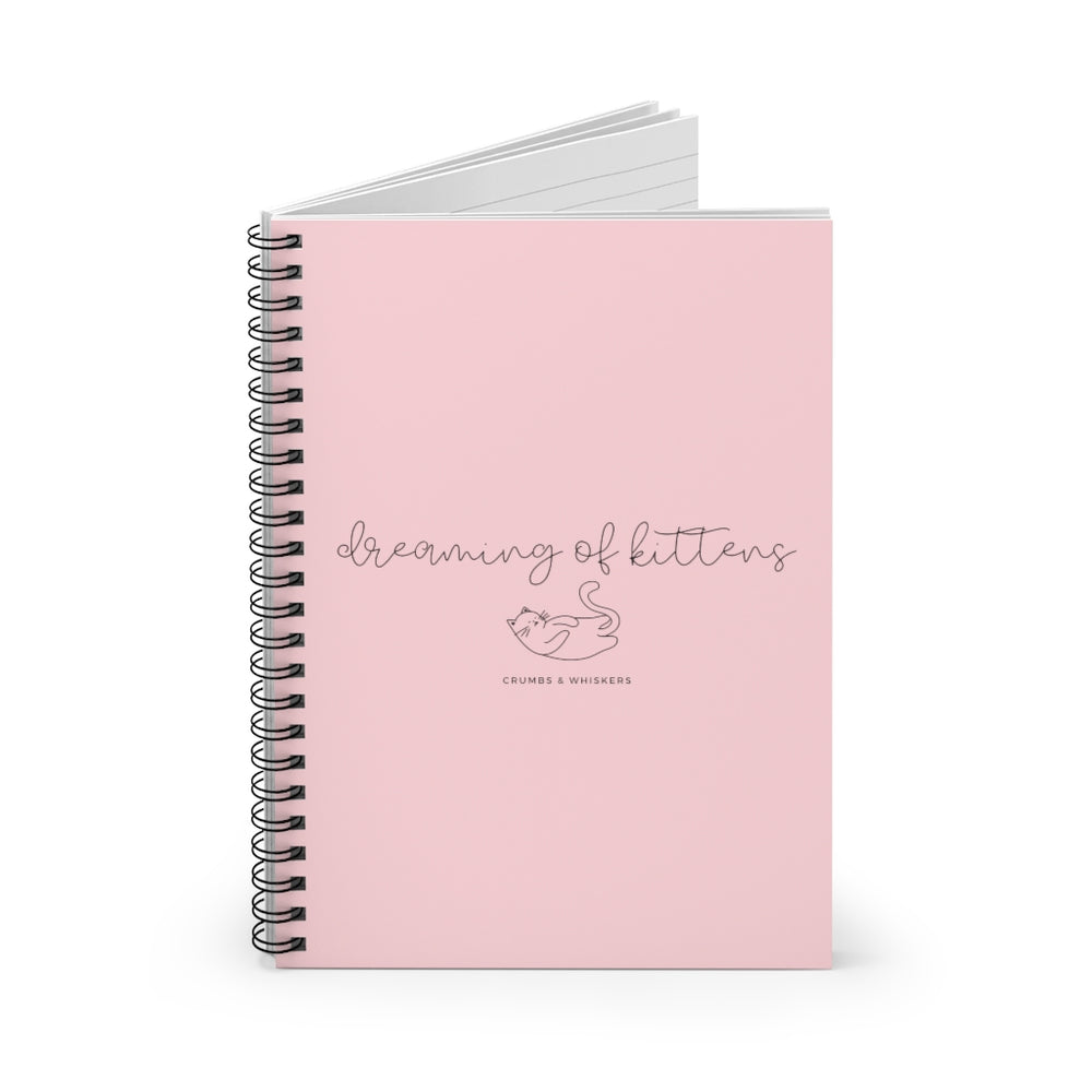 Dreaming of Kittens (Cursive) | Notebook