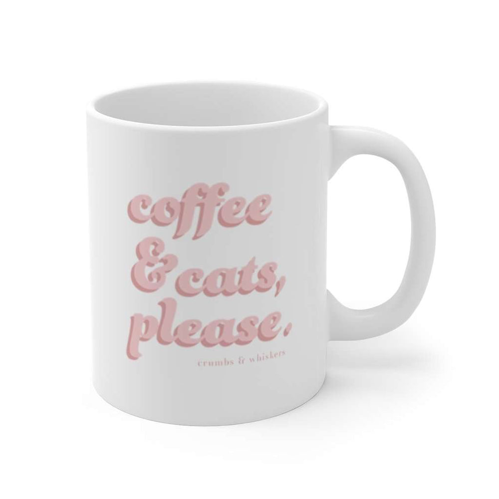 Coffee & Cats (Pink Bubble) | Mug 11oz
