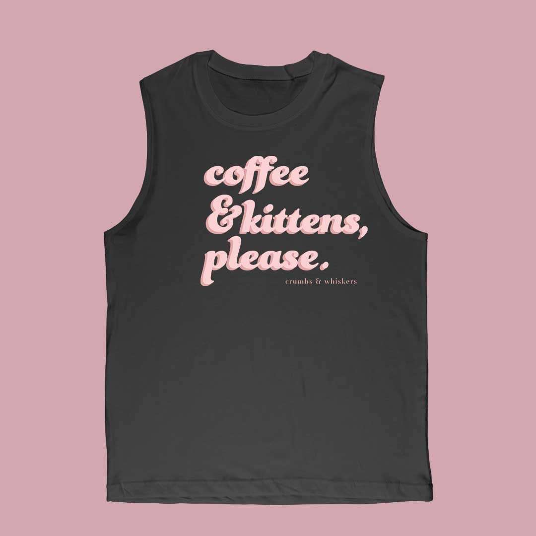 Coffee & Kittens (Pink Bubble) | Bro Tank