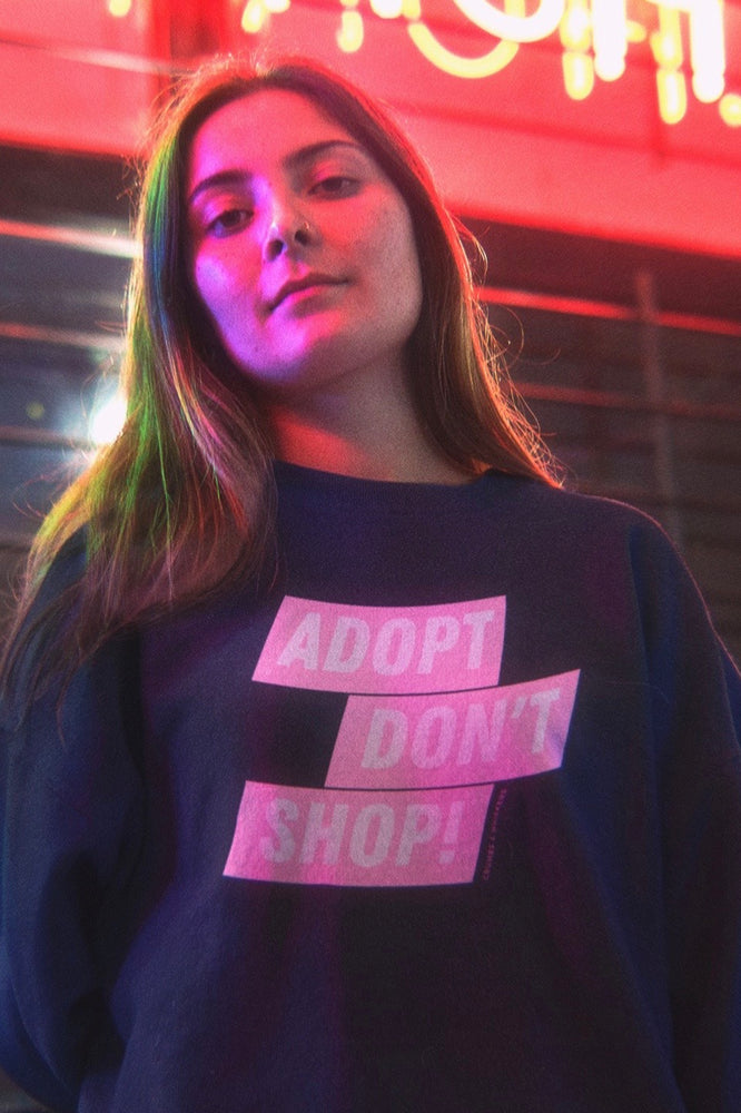 Adopt Don't Shop | Crewneck