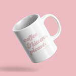 Coffee & Kittens (Pink Bubble) | Mug 11oz