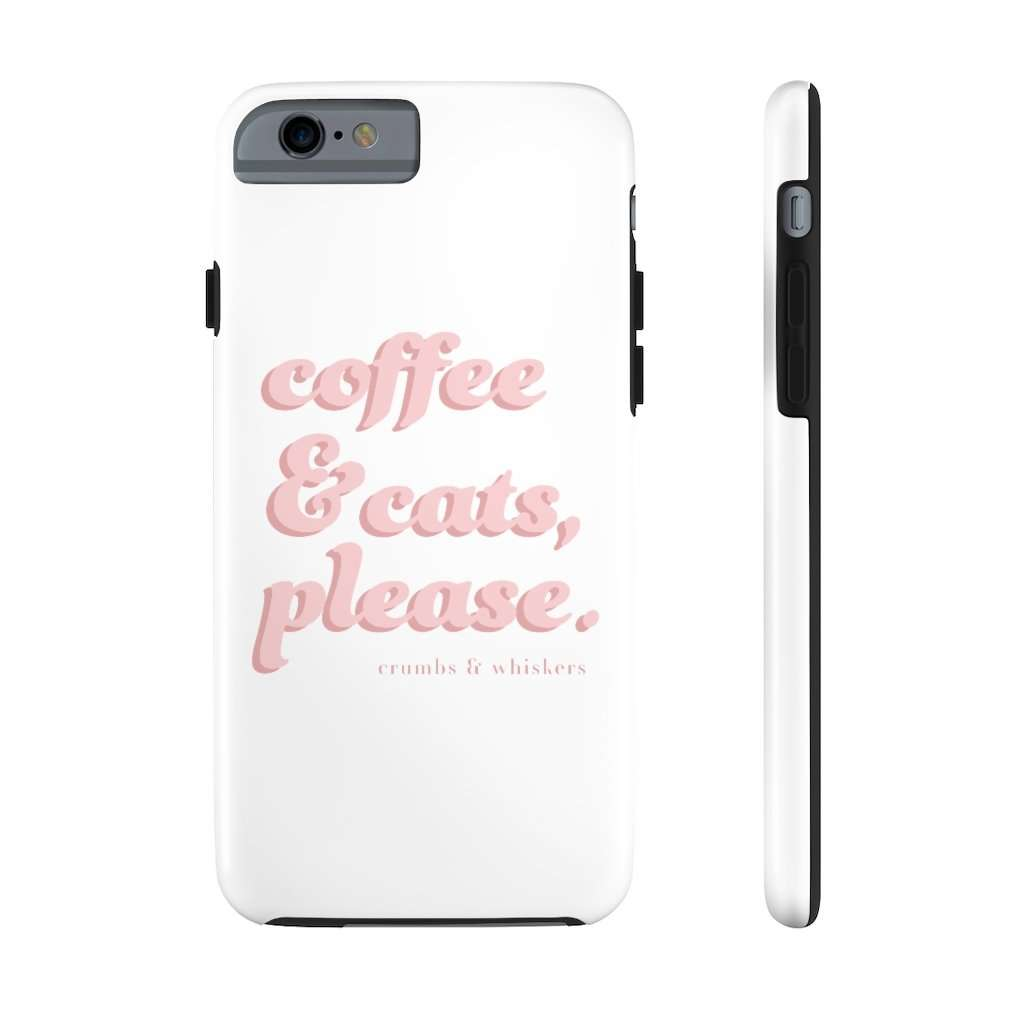 Coffee & Cats (Pink Bubble) | Phone Case