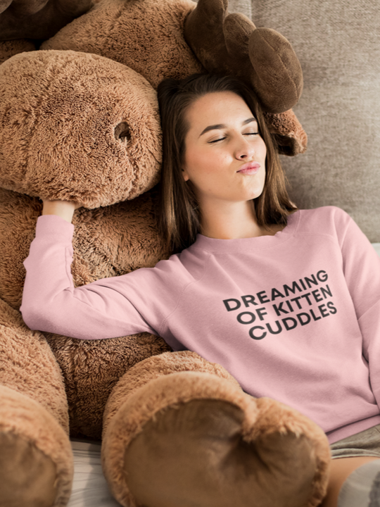 Dreaming of Kitten Cuddles | Crewneck