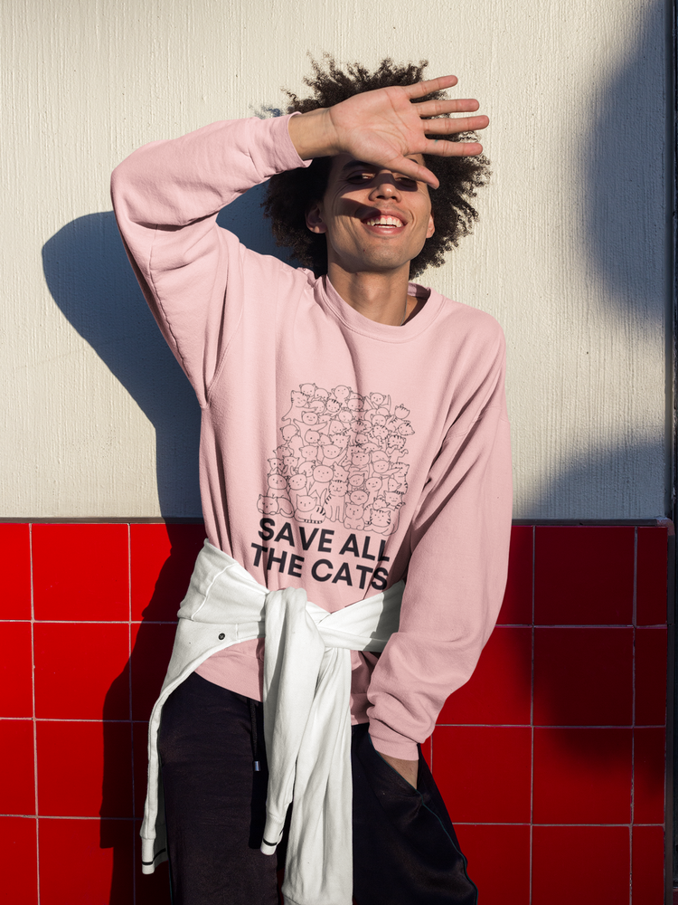 Save All The Cats 2 | Crewneck