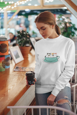 Cats in a Cup | Crewneck
