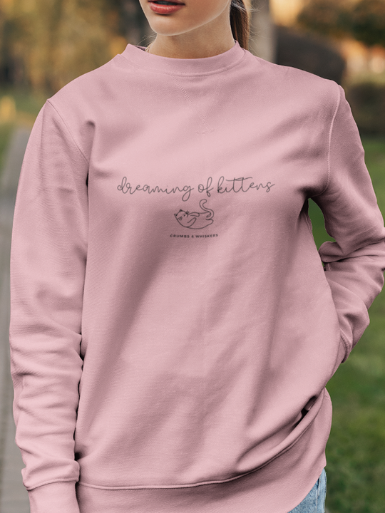 Dreaming of Kittens (Cursive) | Crewneck