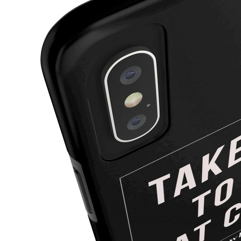 Take me to a cat cafe | Phone Case