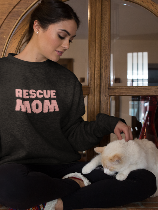 Rescue Mom | Crewneck