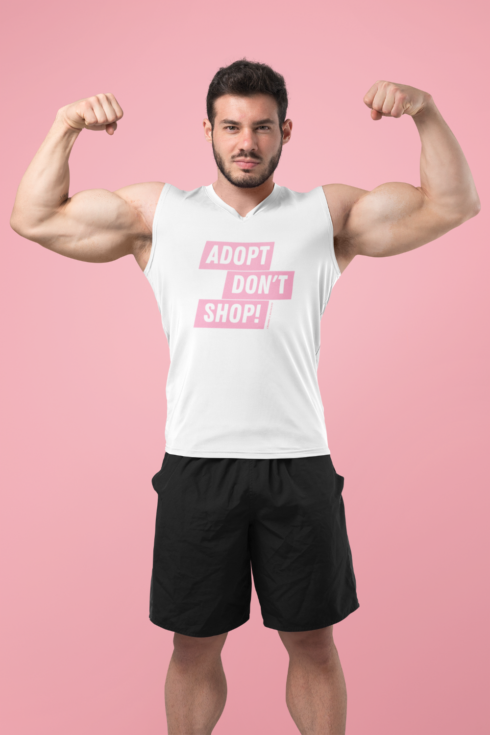 Adopt Don't Shop! | Bro Tank
