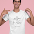Coffee & Cats (Cursive) | Tee