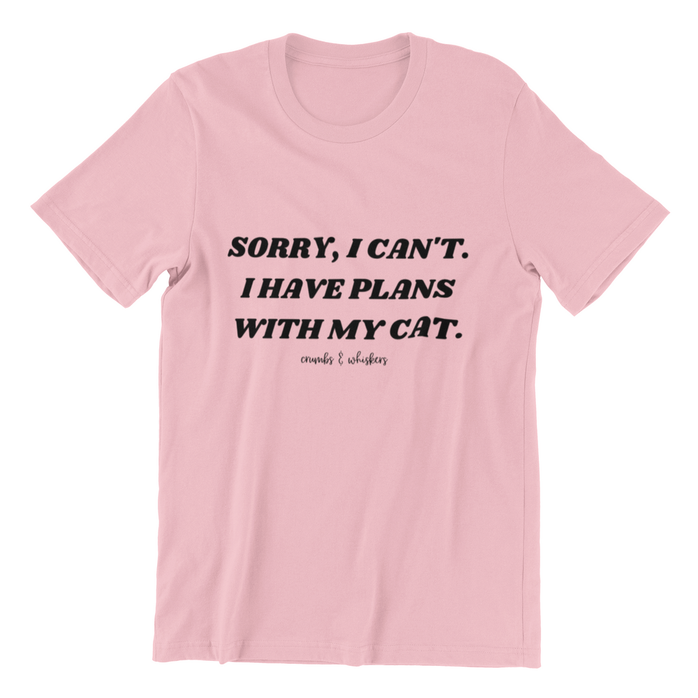 Plans With My Cat | Tee