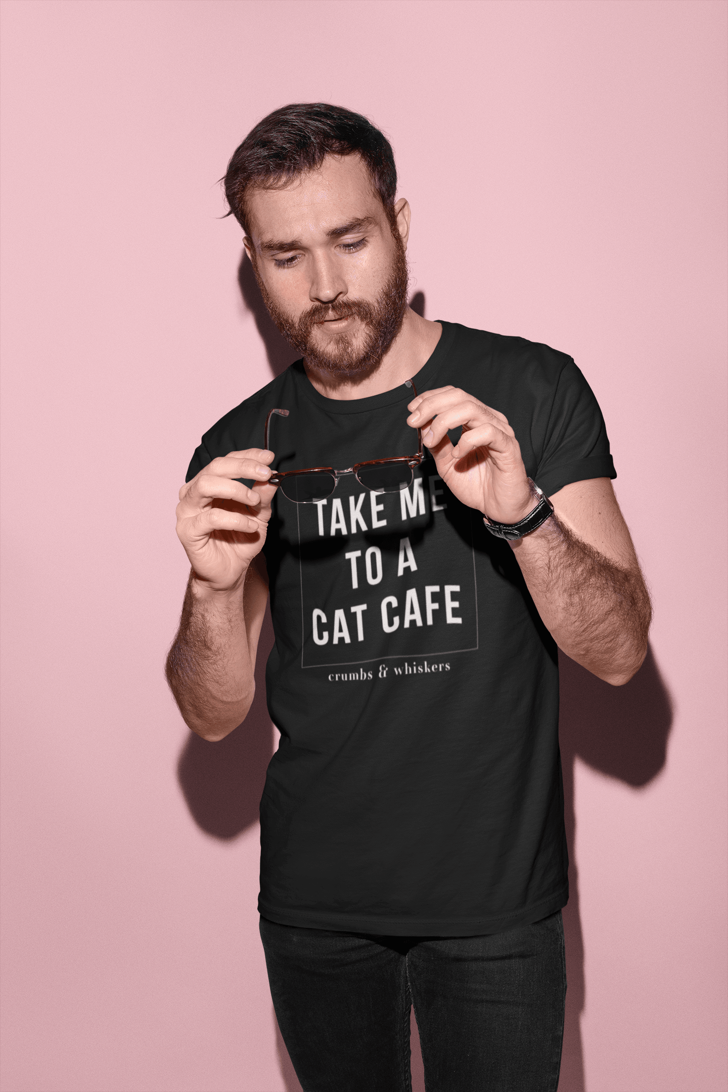 Take Me To A Cat Cafe | Tee