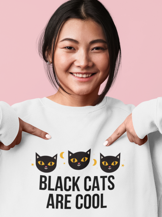 Black Cats Are Cool | Crewneck