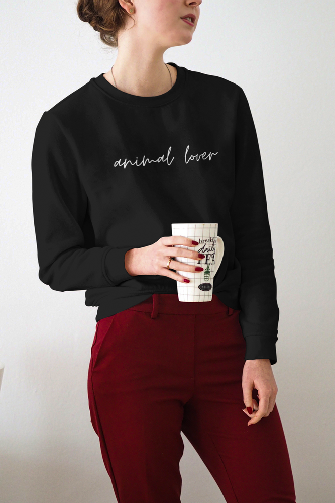 Animal Lover (Cursive) | Crewneck