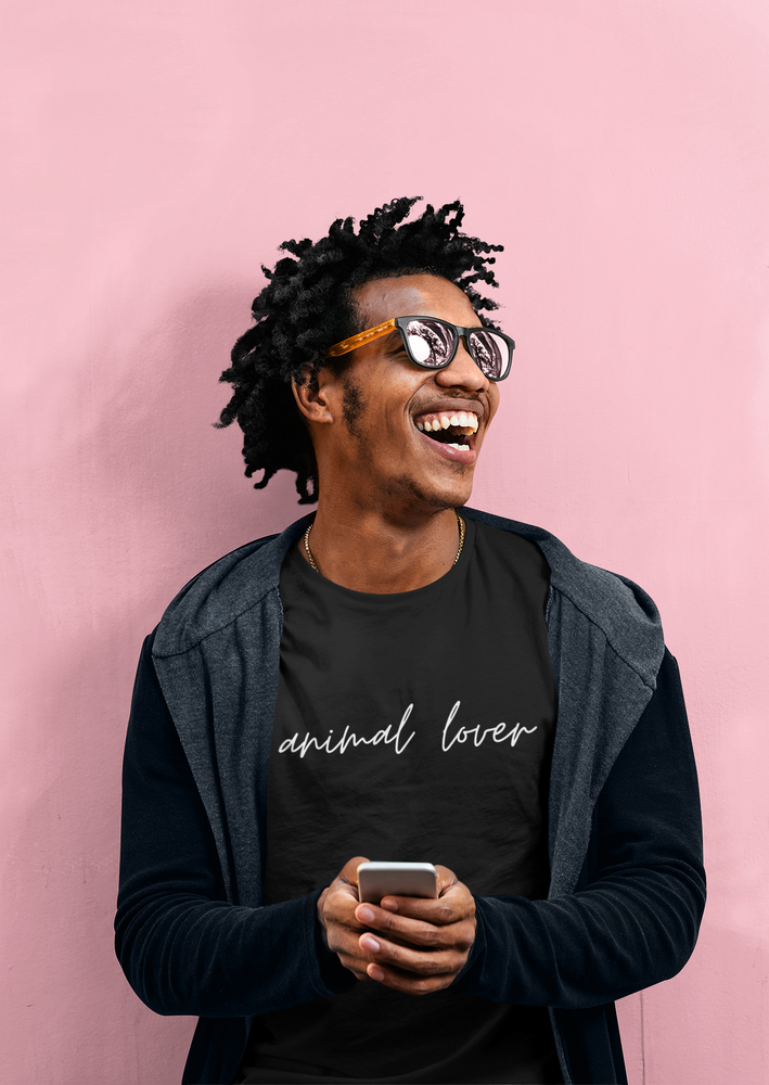 Animal Lover (Cursive) | Tee