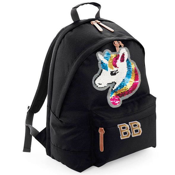 Reversible Sequin Unicorn Maxi Laptop Bag
