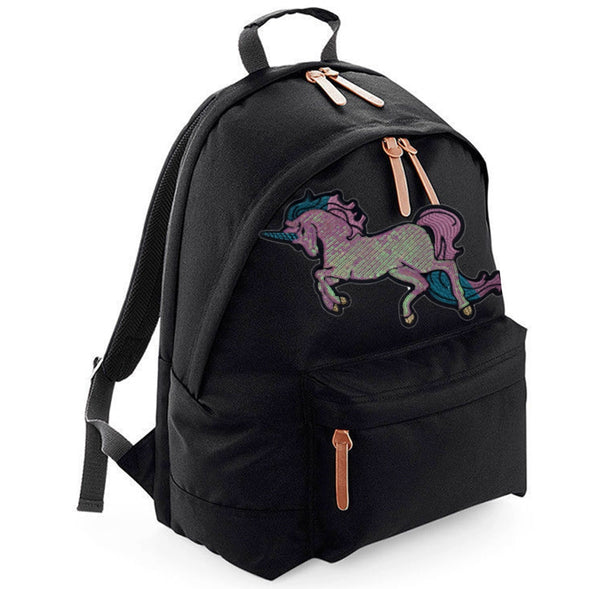 Pearly Sequin Unicorn Maxi Laptop Bag