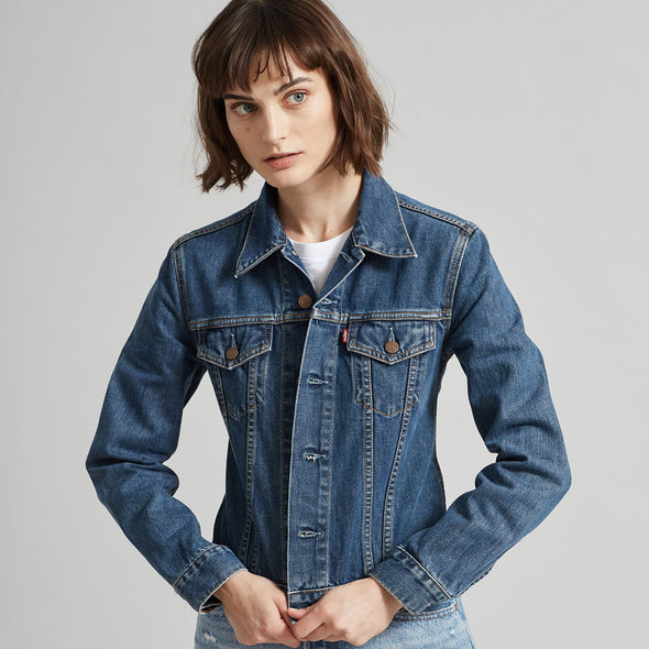 Koi Carp Vintage Denim Jacket