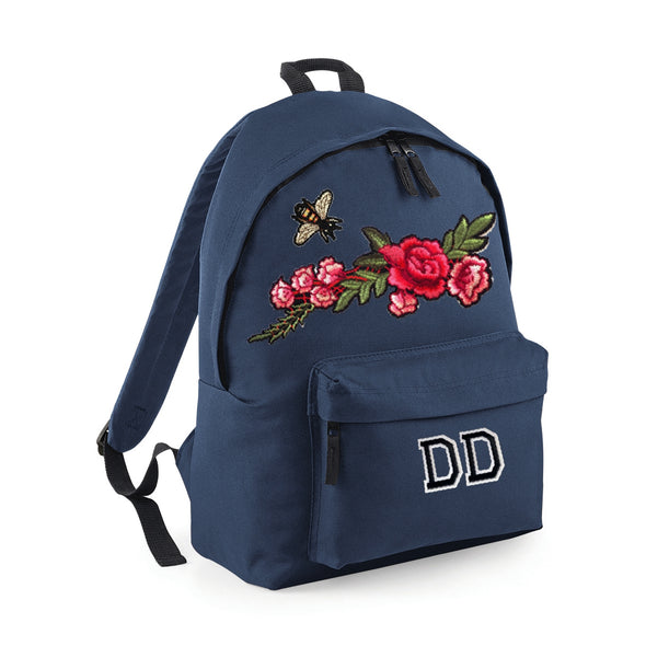 Bee and Rose Branch Midi Bag