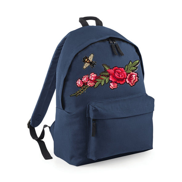 Bee and Rose Branch Compact Bag