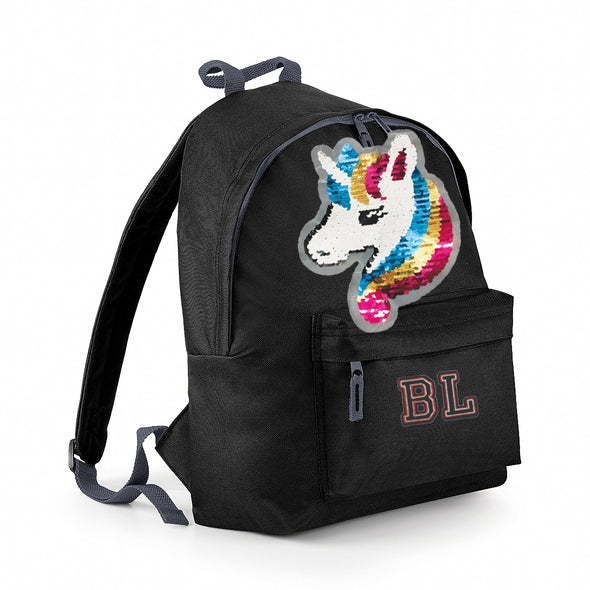 Reversible Sequin Unicorn Maxi Bag