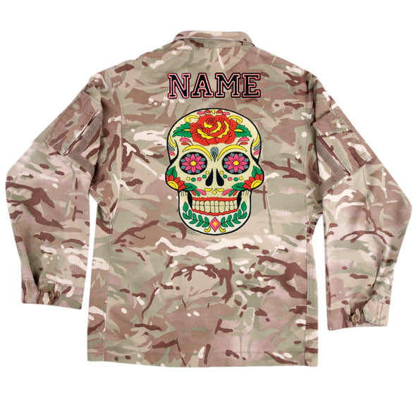 Day of the Dead on Lightweight Camo