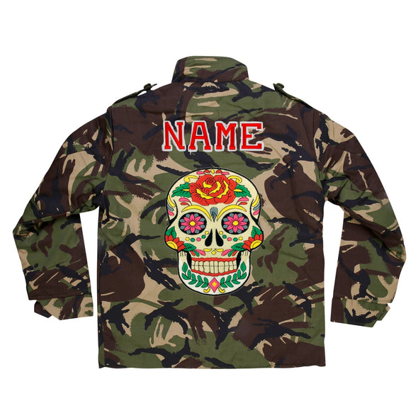 Day of the Dead Camo Jacket