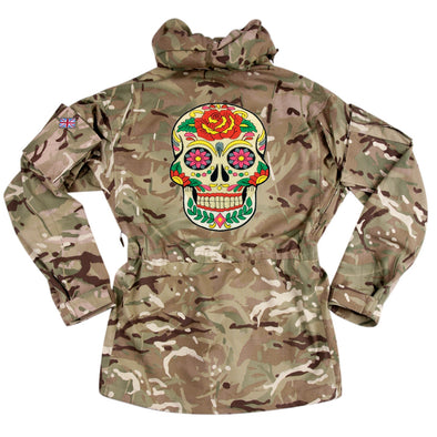 Day of the Dead on Pale Camo