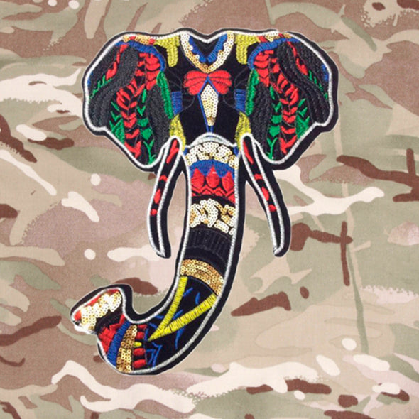 Elephant on Lightweight Camo