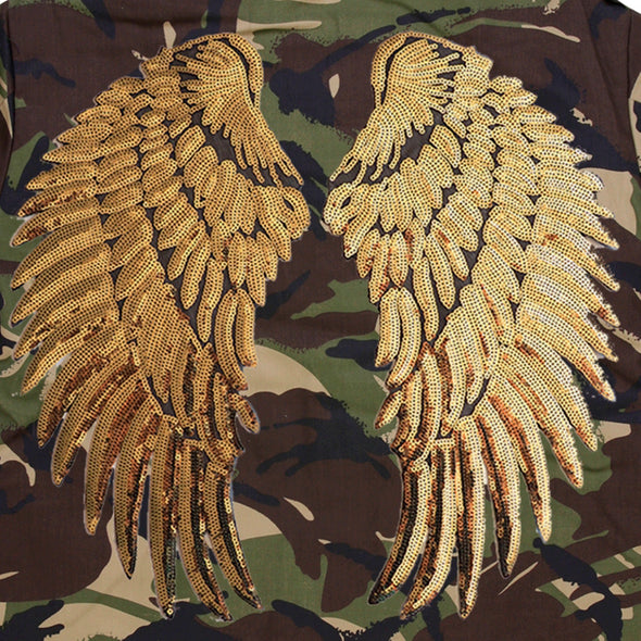 Gold Wings Camo Jacket