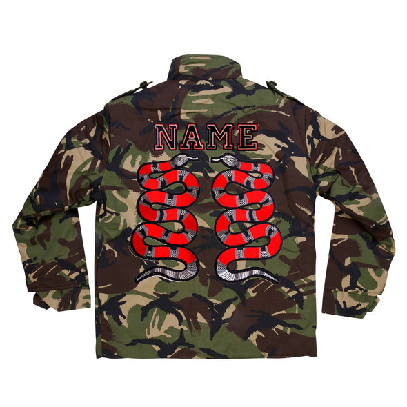 Red Snake Pair Camo Jacket