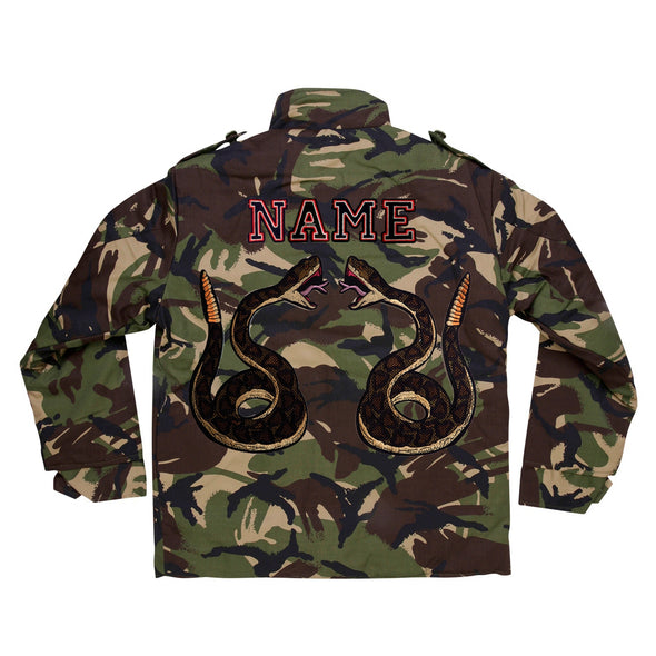 Green Snake Pair Camo Jacket