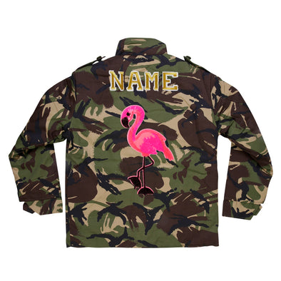 Pink Flamingo Camo Jacket