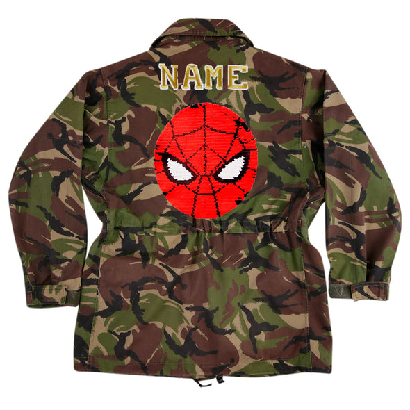Reversible Spiderman on Dark Camo