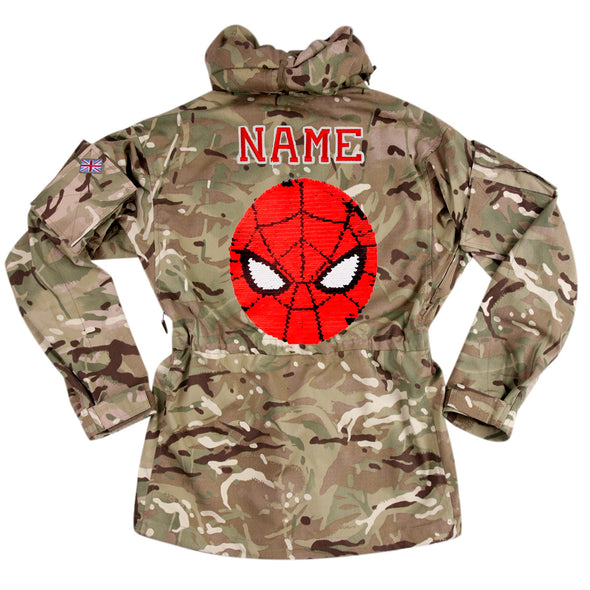 Reversible Spiderman on Pale Camo