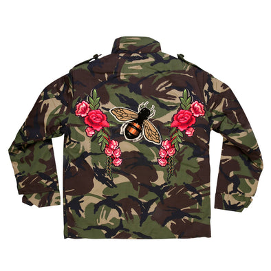 Bee and Roses Camo Jacket
