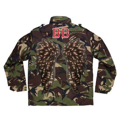 Bronze Wings Camo Jacket
