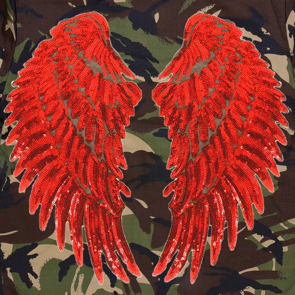 XXL Red Wings Camo Jacket