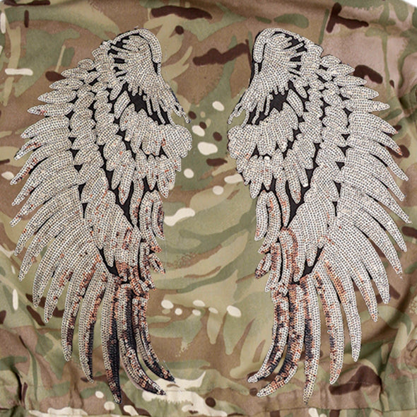 Silver Wings on Pale Camo