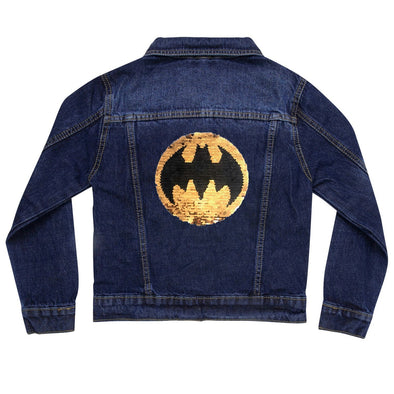 Batman Superman Denim Jacket