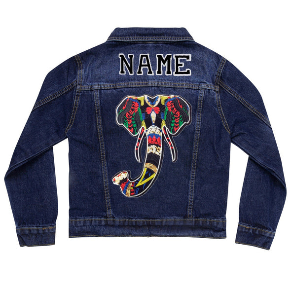 Elephant Vintage Denim Jacket