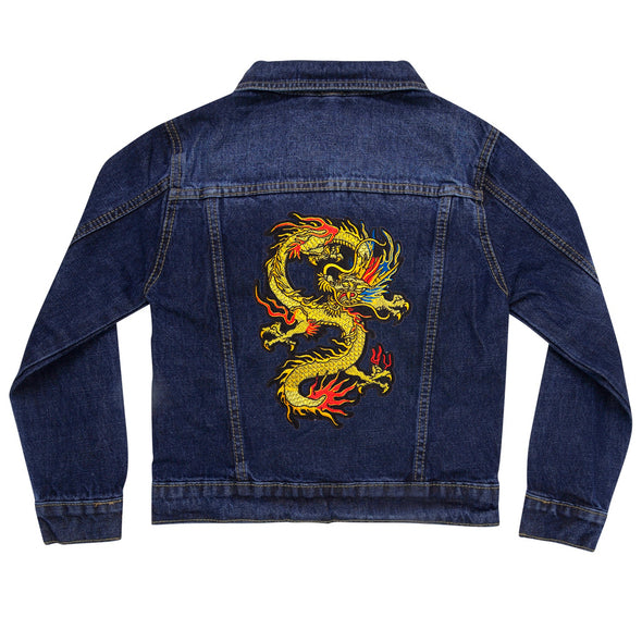 Dragon Vintage Denim Jacket