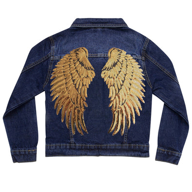 Gold Wings Vintage Denim Jacket