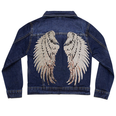 Silver Wings Vintage Denim Jacket