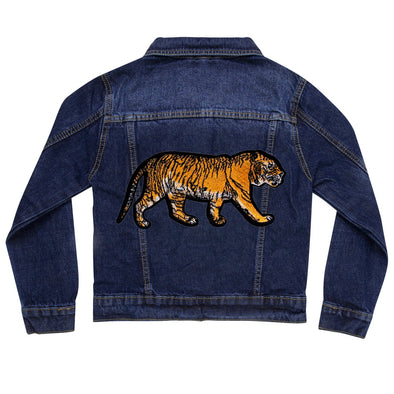 Walking Tiger Vintage Denim Jacket