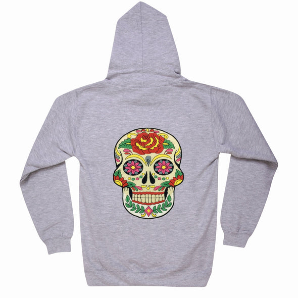 Day of the Dead Skull Hoodie