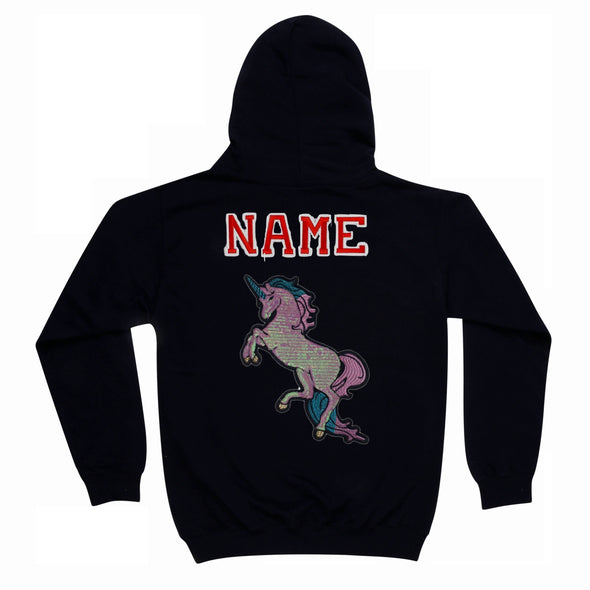 Pearly Sequin Unicorn Hoodie