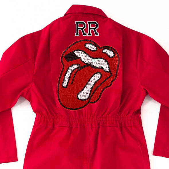 Rock'n'Roll Lips Jumpsuit