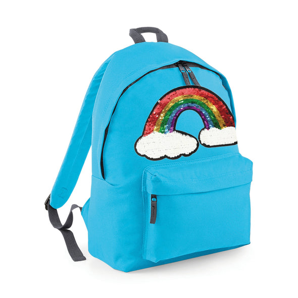 Reversible Sequin Rainbow Junior Bag