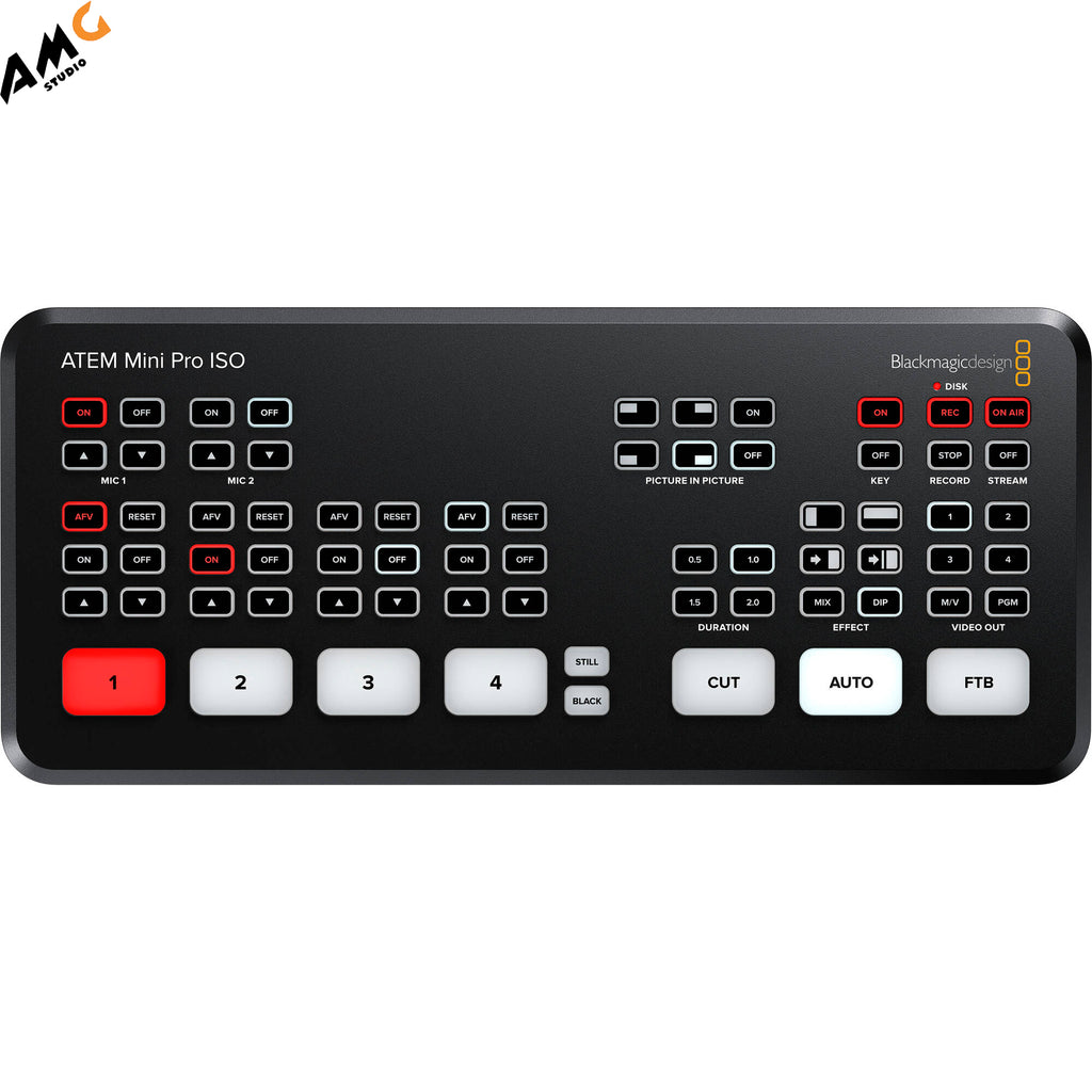Blackmagic Design ATEM Mini Pro ISO IN STOCK! Limited Quantity Available!